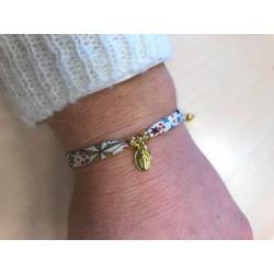 """Bracelet Liberty  """"adladja"""" avec médaille miraculeuse dorée"""