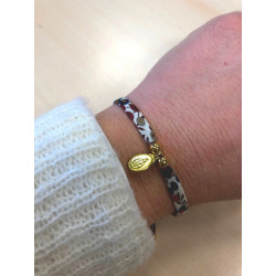 """Bracelet Liberty  """"wiltshire"""" avec médaille miraculeuse dorée"""