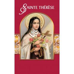 Carte Prière Sainte Thérèse