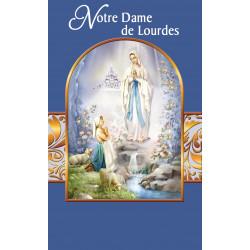Carte Prière Notre Dame de Lourdes