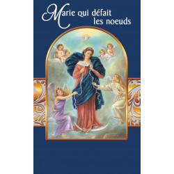 Carte Prière Marie qui défait les noeuds