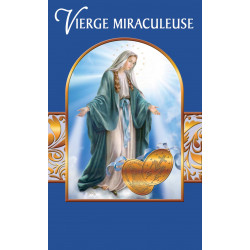 Carte Prière Vierge Miraculeuse