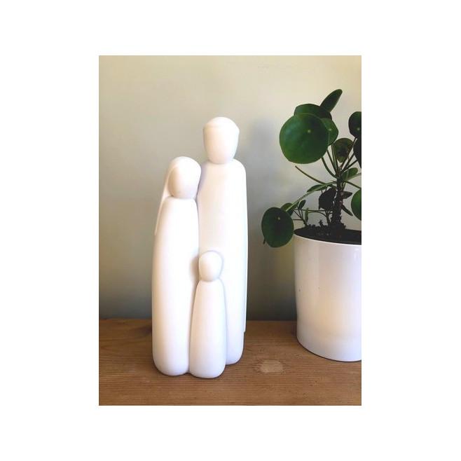 Statue Sainte Famille de Nazareth - 28cm