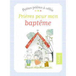 """Petites prières à offrir """"baptême"""" - Mame"""