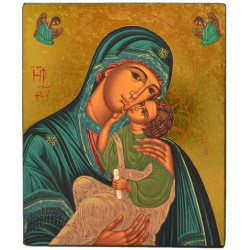 ICONE RELIGIEUSE OR - 12.5x15 Notre Dame de l'Espérance