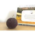 Bougie ronde - 6cm - chocolat