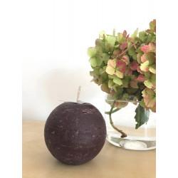 Bougie ronde - 8cm - chocolat
