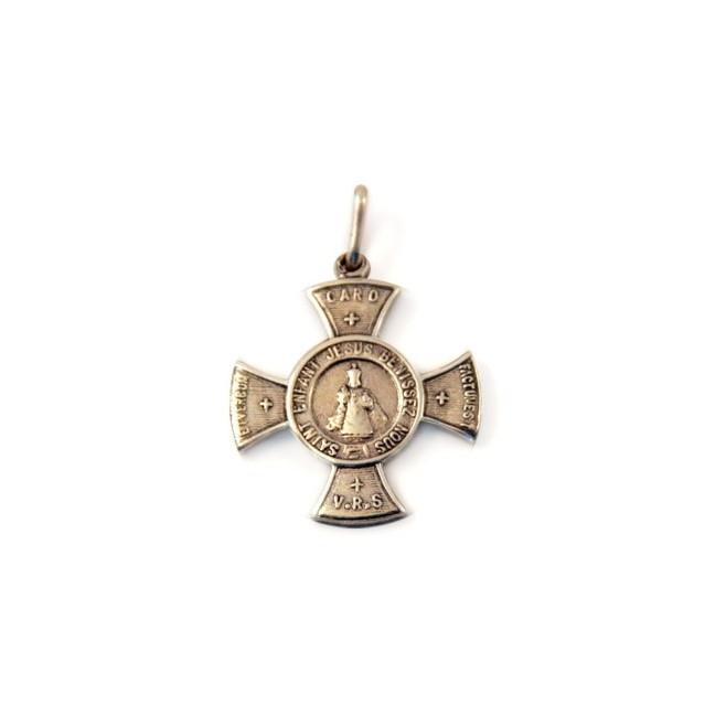 Médaille Enfant Jésus de Prague