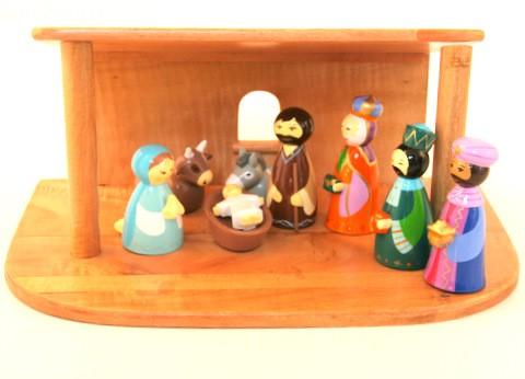 cr che yves le pape 11 personnages comptoir religieux. Black Bedroom Furniture Sets. Home Design Ideas
